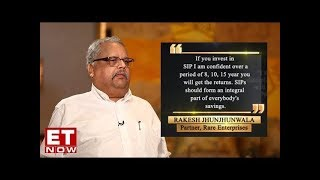 Rakesh Jhunjhunwala speaks on why everyone should embrace the SIP culture   EXCLUSIVE