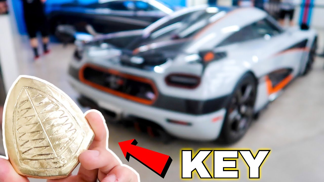 The World S Most Interesting Car Key Koenigsegg Agera Rs Youtube