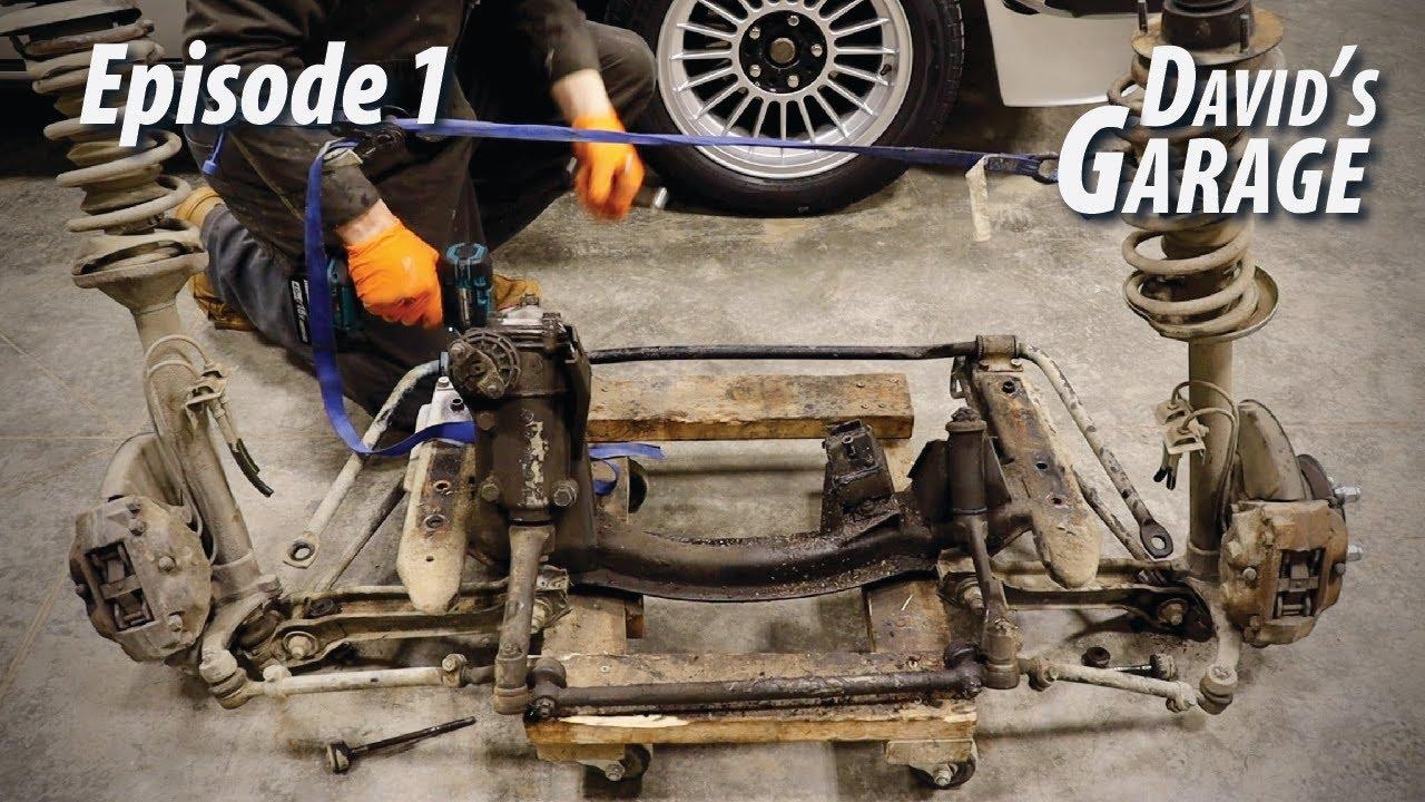 1976 BMW 2002 Overhaul Episode 1 Front suspension