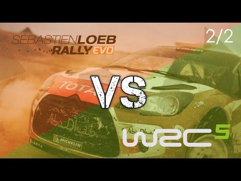 Comparatif WRC 5 Vs Sebastien Loeb Rally Evo - 2/2