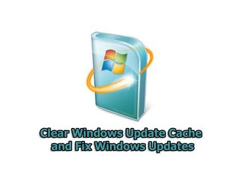 Clear Windows Update Cache and Fix Windows Updates