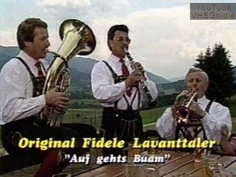 Original fidele Lavanttaler - Auf gehts Buam - 1995