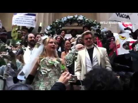 Occupy 'Wedding' on Anniversary of Citizens United