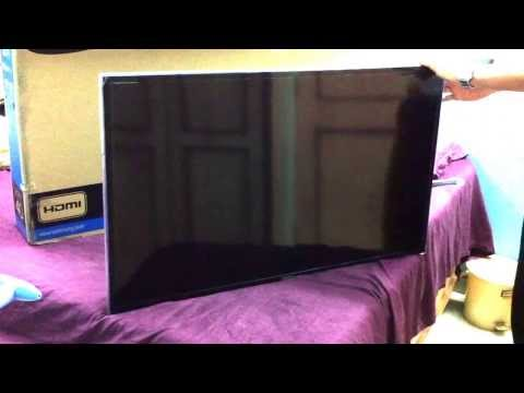 Samsung Smart 40inch 3D LED TV Series 6-(6400) UNBOXING (INDIA)