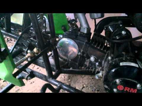 Обзор квадроцикла RM Рысь 125 Sport