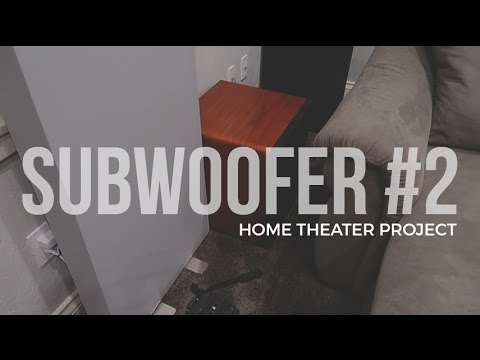Home Theater Project:  2nd Subwoofer & Audyssey Set Up