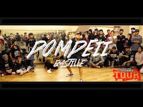 "POMPEII - Bastille | Sagar Bora (13.13) Choreography | GUIDANCE Tour ""Delhi"""