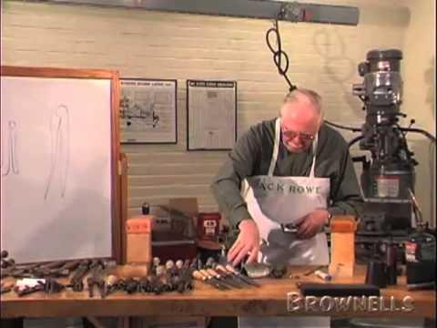 Jack Rowe, Master Gunsmith Series, Making a Spring. Part 1 of 3.