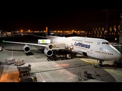 Lufthansa 747 - LH 736 behind the scenes flight from Frankfurt to Hong Kong (1996)