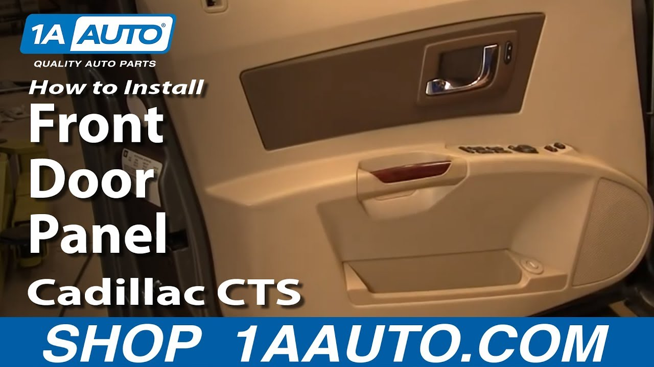 maxresdefault how to install replace front door panel cadillac cts 03 07 1aauto  at bayanpartner.co