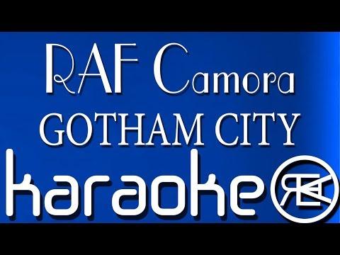 RAF Camora - GOTHAM CITY ( Karaoke Lyrics )