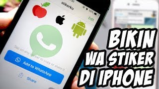 Download Video Cara Mudah MemBuat Stiker Whatsapp di iPhone MP3 3GP MP4