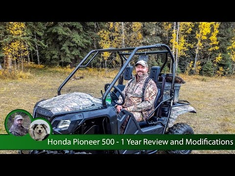 Honda Pioneer 500 - 1 Year Review and Modifications