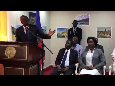 President Jovenel Moise Welcome Spirit Airlines & Travelers to Cap-Haitien