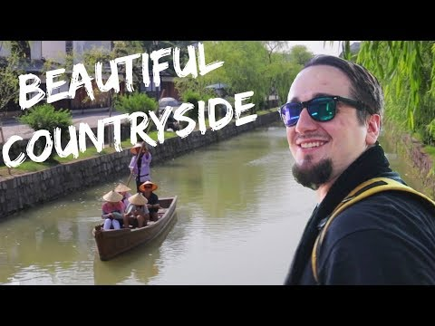 Kurashiki the beautiful countryside | Exploring outside of Tokyo