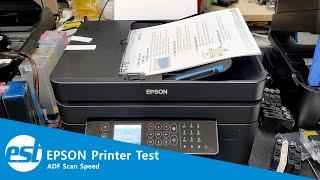 EPSON PRINTER : ADF SCAN