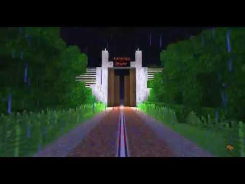 Minecraft Jurassic Park Map