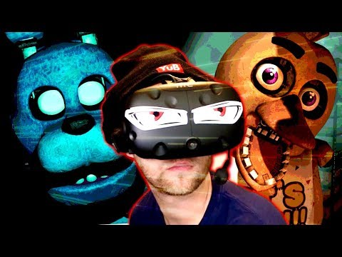 playing FNAF in VR was a mistake...