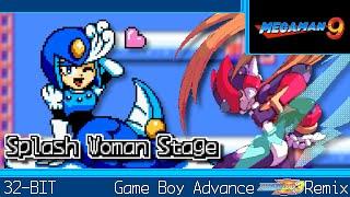 [GBA]Splash Woman - Mega Man 9【MMZ3 Style】
