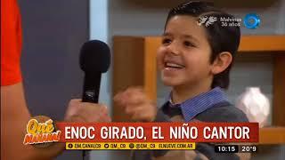 Enoc Girado, el niño cantor