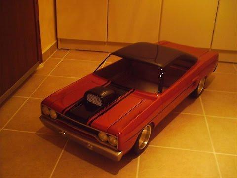 Handmade 1/4 Plymouth GTX- Elyapımı 1/4 Plymouth GTX