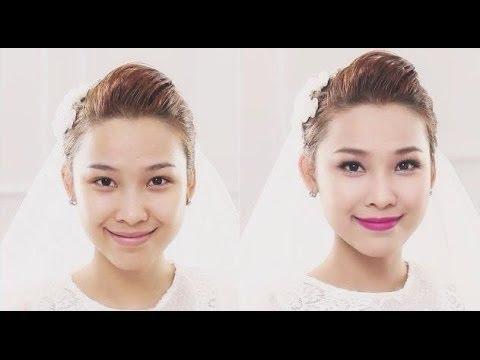 Bridal Makeup Look - Trang điểm cô dâu ( Quách Ánh )