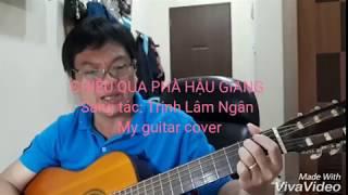 Chiều qua phà Hậu Giang - Guitar cover
