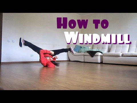 How to Breakdance: Windmill Tutorial | Step by step