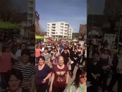 Berane - Protest Mart 2017