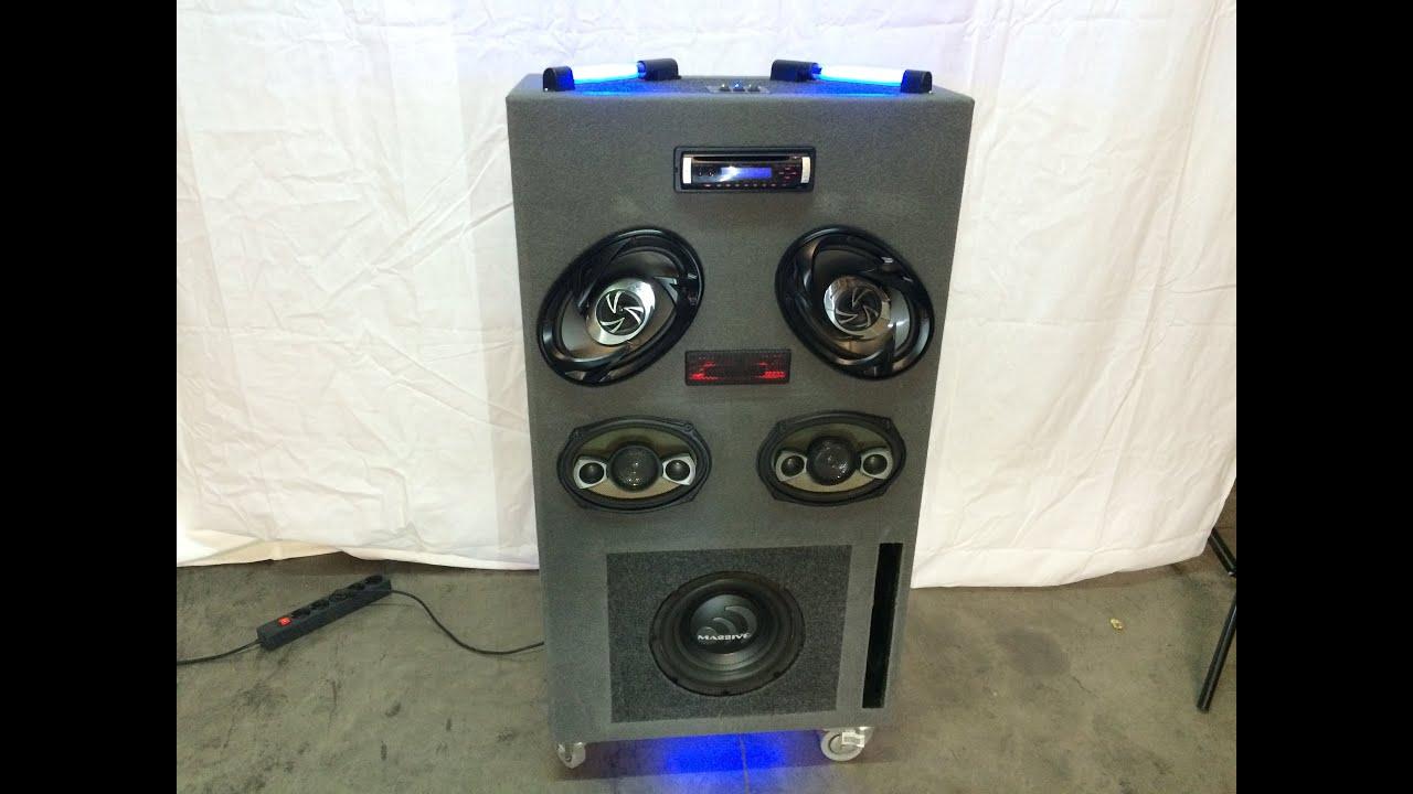 Montaje de equipo de caraudio para el taller o casa youtube for Stereo casa