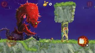 Rayman Jungle Run - game Giant plant L 7-8