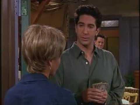 Friends Selection - Ross Flirts!