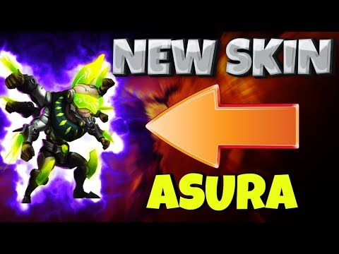 *NEW* Asura SKIN [ In Action ] CASTLE CLASH