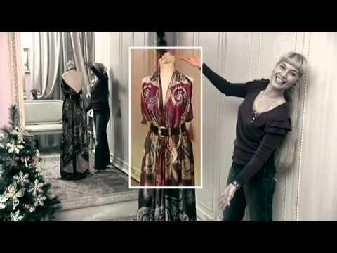 Платье балахон сшить быстро и