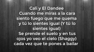 Cali Y El Dandee - Lumbra ft. Shaggy LETRA