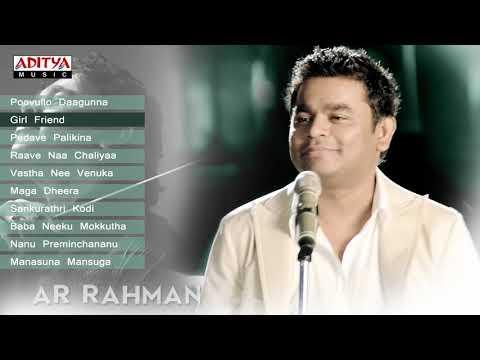 A R Rahman Sensational Hits100 Years of Indian CinemaTelugu Songs