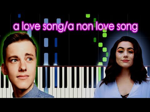 Dodie || Jon Cozart - a love song/a non love song Piano Tutorial by elcyberguy