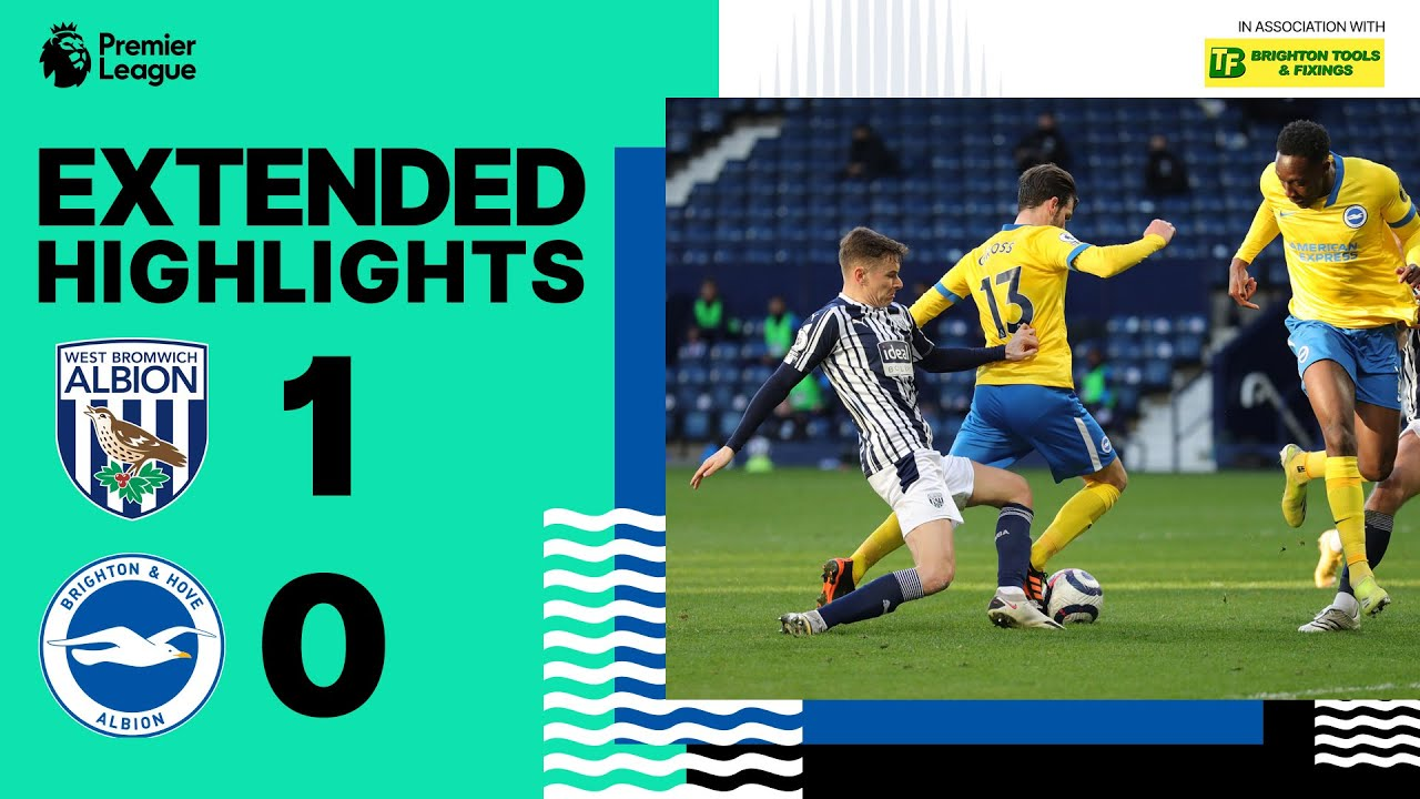 Download Extended PL Highlights: WBA 1 Albion 0