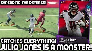 PLAYOFFS JULIO JONES CATCHES EVERYTHING! Madden 18 Ultimate Team