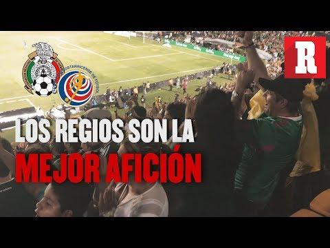Color México vs Costa Rica (3-2) | Los regios son la mejor afición | RÉCORD
