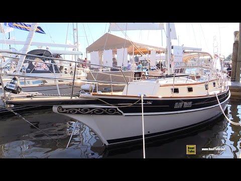 2015 Gozzard 31 MKII Sailing Yacht - Deck and interior Walkaround - 2015 Annapolis Sail Boat Show