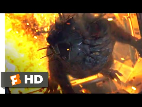 Rampage (2018) - Killer Space Rat Scene (1/10) | Movieclips