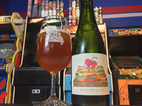 Beer Review #416 - American Solera - Foeder Cerise (Cherry Sour) - 6% ABV