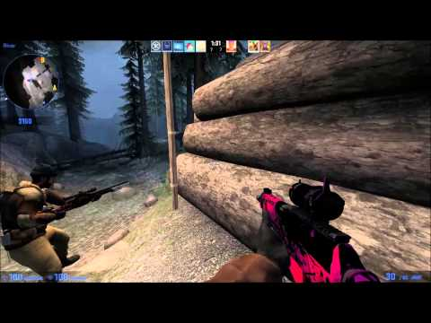 Counter Strike Global Offensive Operation Breakout Castle Gameplay