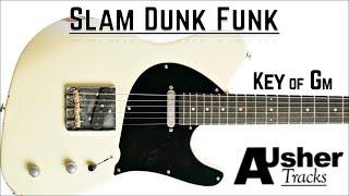 Slam Dunk Funk in G minor   Guitar Backing Track