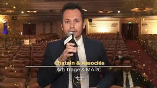 Palmarès du Droit 2021 - Chatain & Associés - Arbitrage et MARC