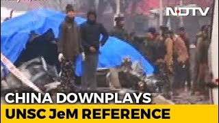 """Jaish Mention """"In General Terms"""": China Downplays UNSC Pulwama Statement"""