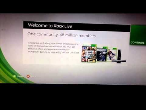 How to get free Xbox Live account Xbox 360