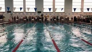 NCAP swimmer Phoebe Bacon Kicks 53.94 in 100 Yard Backstroke