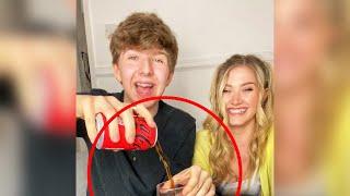 Crazy coke magic trick! (Tutorial) 🤐 #shorts